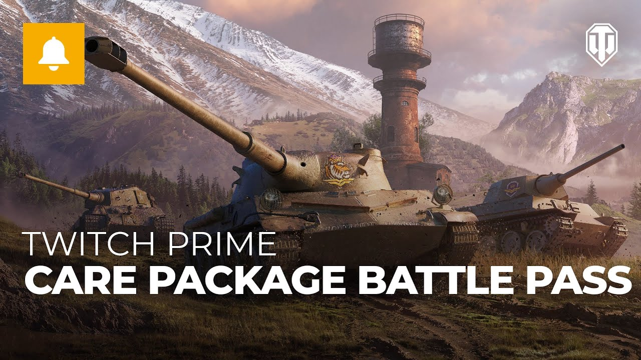 Twitch Prime World of Tanks Battle Pass / Warframe / R6