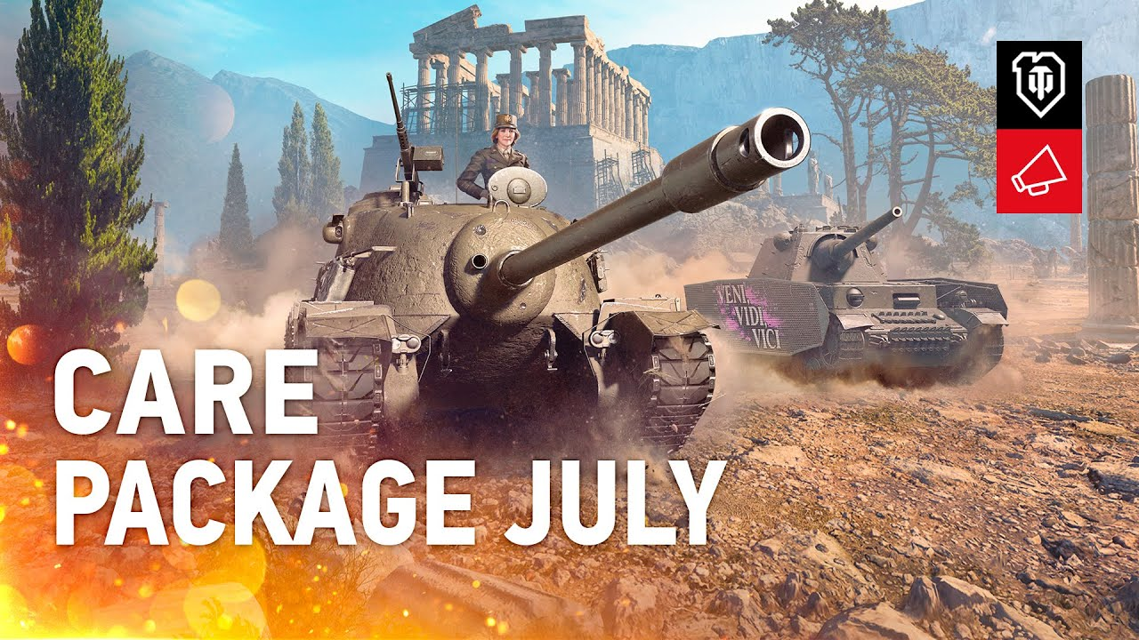 Twitch Prime World of Tanks Июль / July / Apex