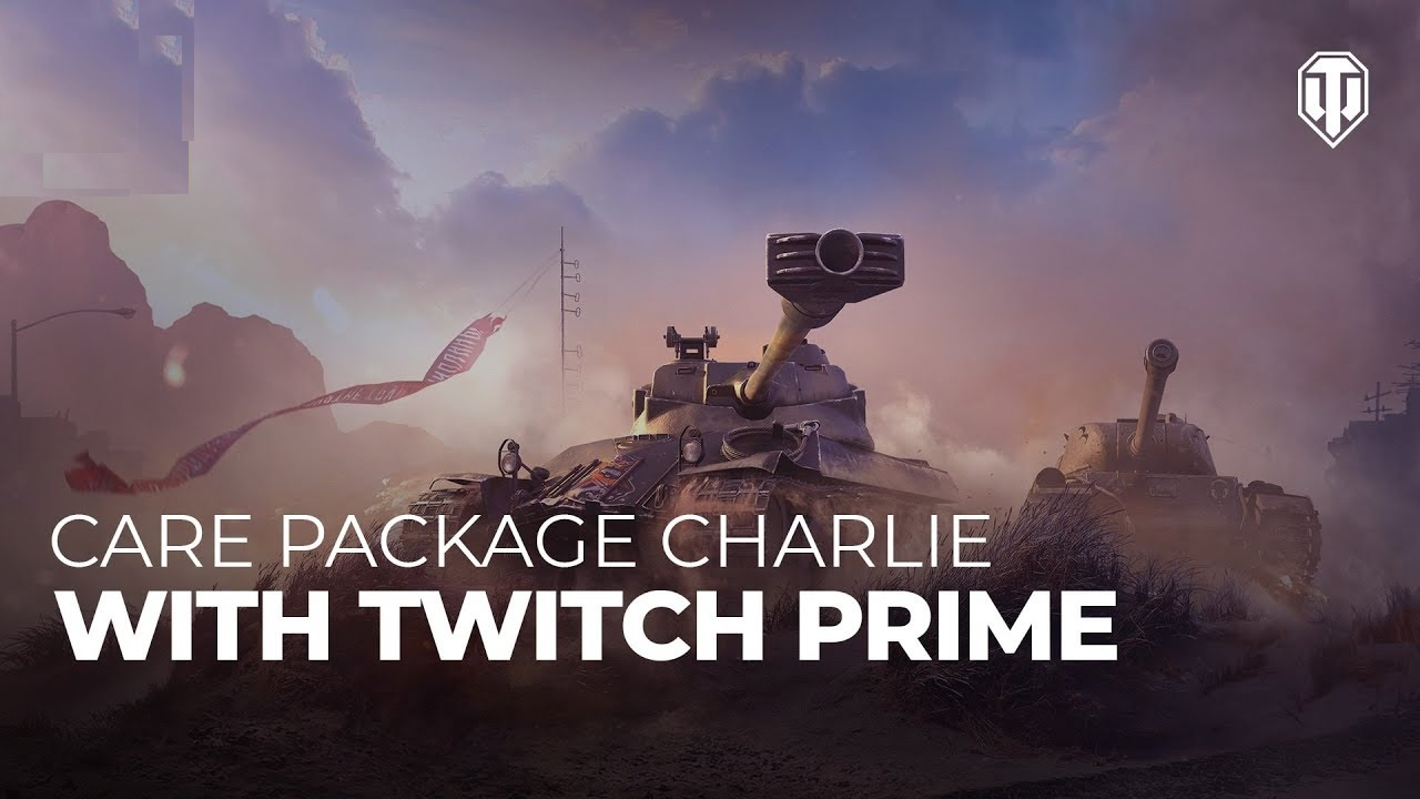 Twitch Prime Account World of Tanks Charlie / Warface 2019