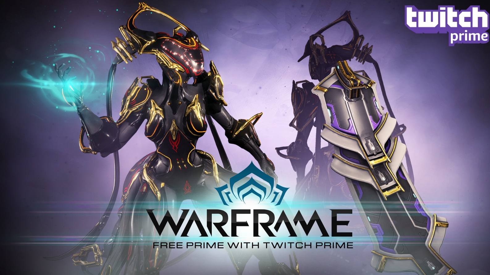 Twitch Warframe Weapon + Trinity (без Prime)