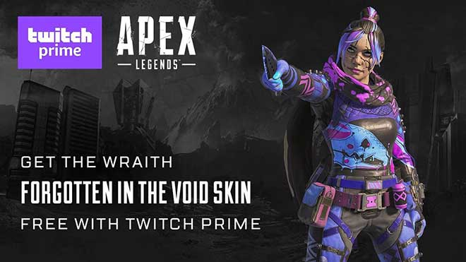 Apex Legends Wraith Void + Loba Game Master (no Prime)