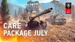 Twitch Prime World of Tanks Июль / July / Apex