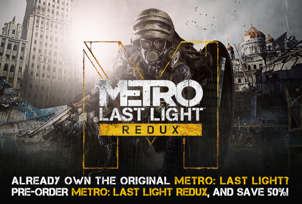 Metro Redux Bundle Complete (Steam Gift | RU+CIS+VPN)