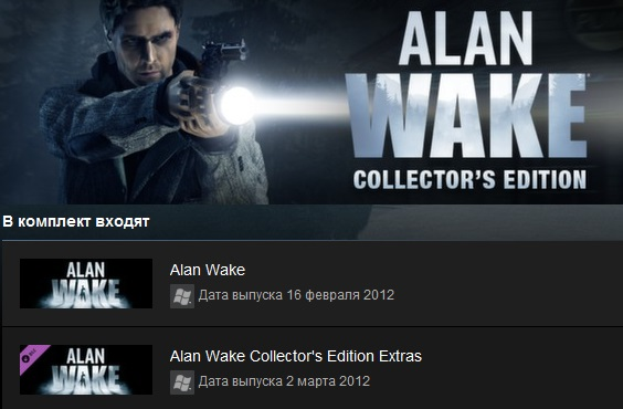 Alan Wake Collector´s Edition (Steam Gift/ Region Free)