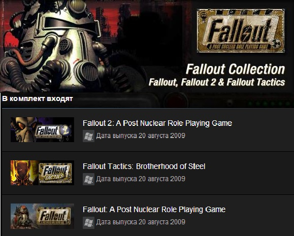 Fallout Collection (Steam Gift / Region Free)