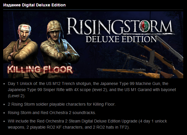 Rising Storm - Digital Deluxe (Steam Gift / Reg.Free)