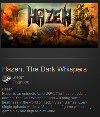Hazen: The Dark Whispers (Steam Gift / Region Free)