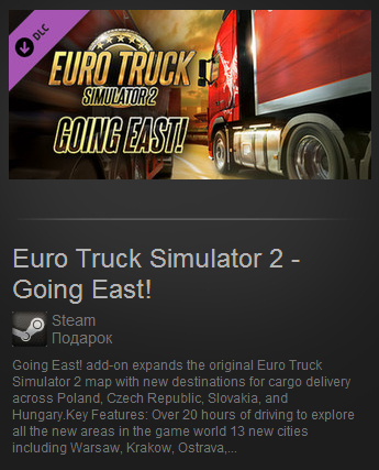 Going East! (Steam Gift/ Region Free)