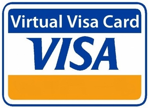 1 $ USD VISA VIRTUAL CARD (RUS Bank). without 3ds 12/17