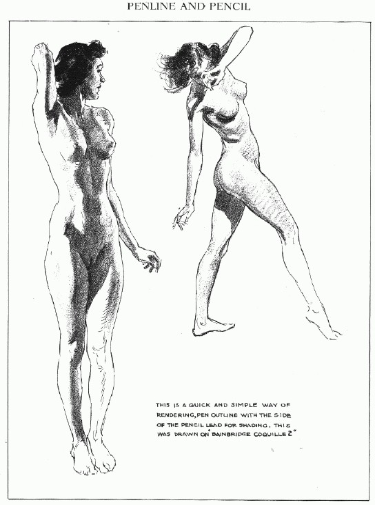 Drawing nudes. Textbook. Author Andrew Loomis