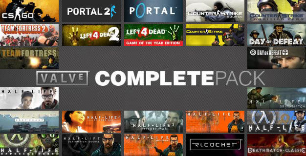 Valve Complete Pack (Steam Gift / RU+CIS)