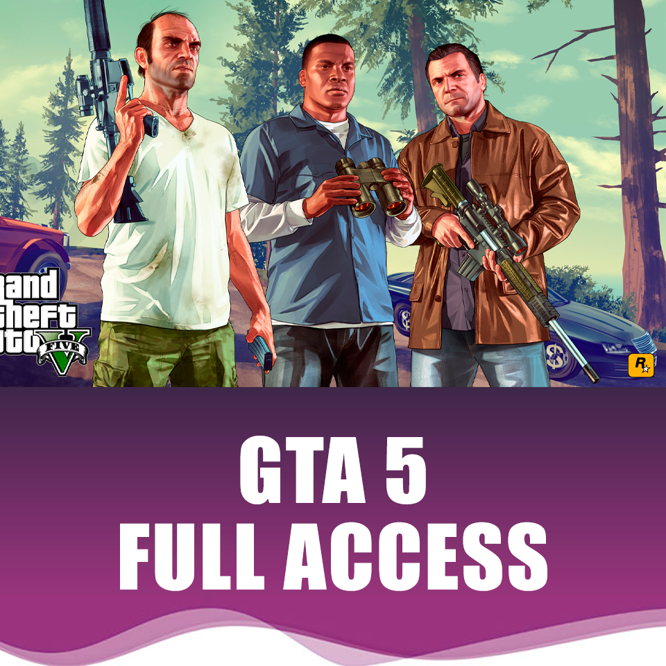 ✅🔥 GTA 5 - ACCOUNT (FULL ACCESS) EpicGames | PRIVATE