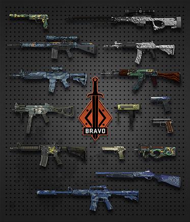 CS:GO случайное оружие + СКИДКИ + БОНУС