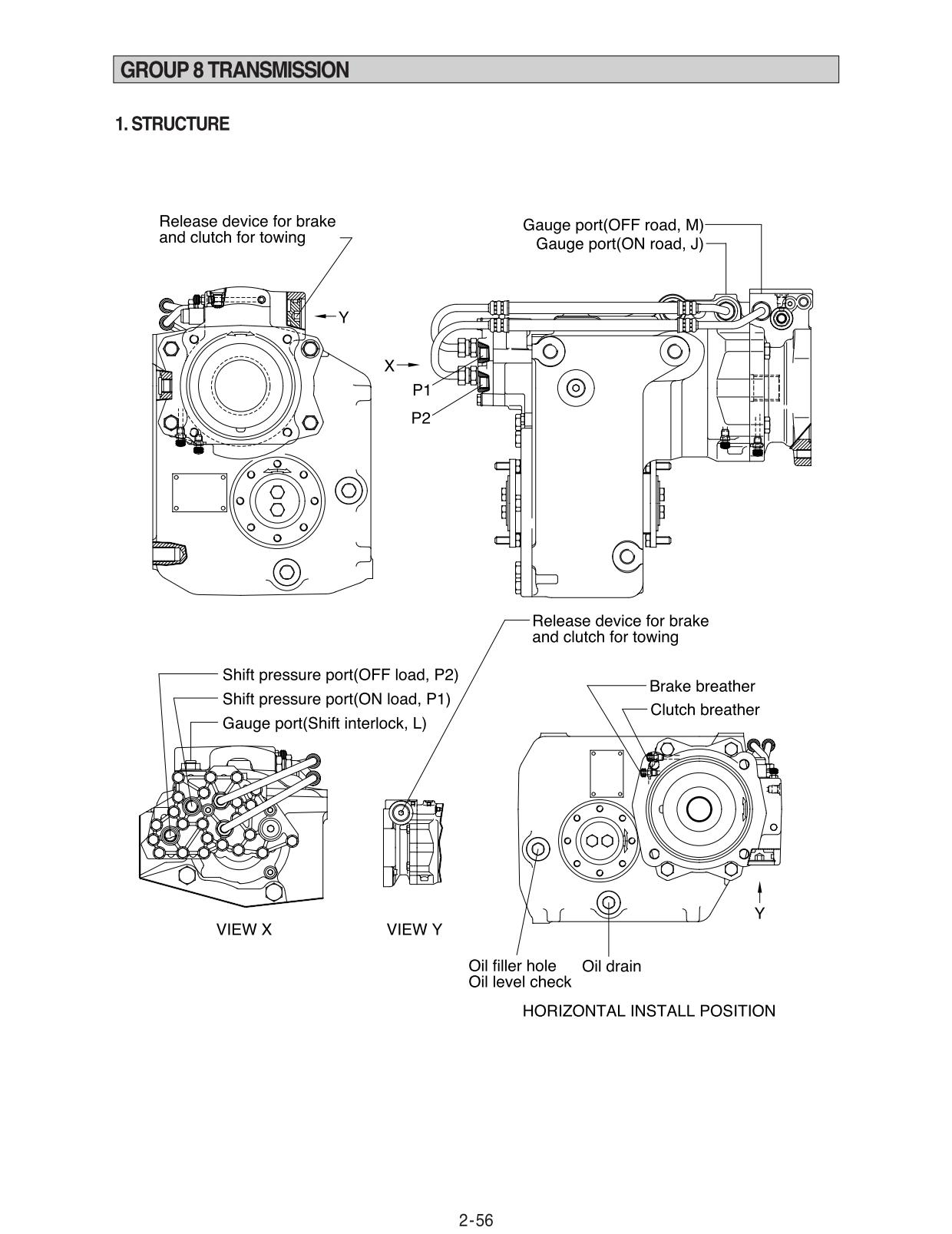 Guidelines for repair and maintenance of Hyundai R95W-3