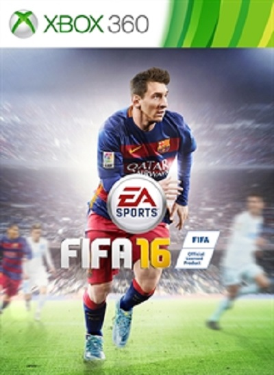 FIFA 16 Russian version for the Xbox 360