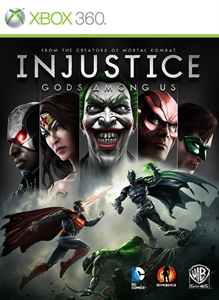 Injustice Gods Among US rus Xbox360