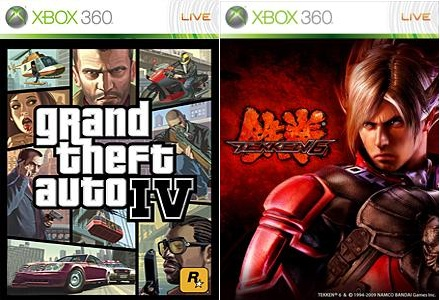 GTA 4, Tekken 6 Russian version for the Xbox 360