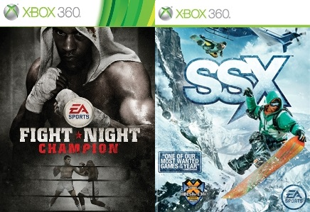 Fight Night Champion, SSX Snowboarding for Xbox 360
