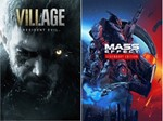 Mass Effect Legendary и RE Village Xbox One , Series XS