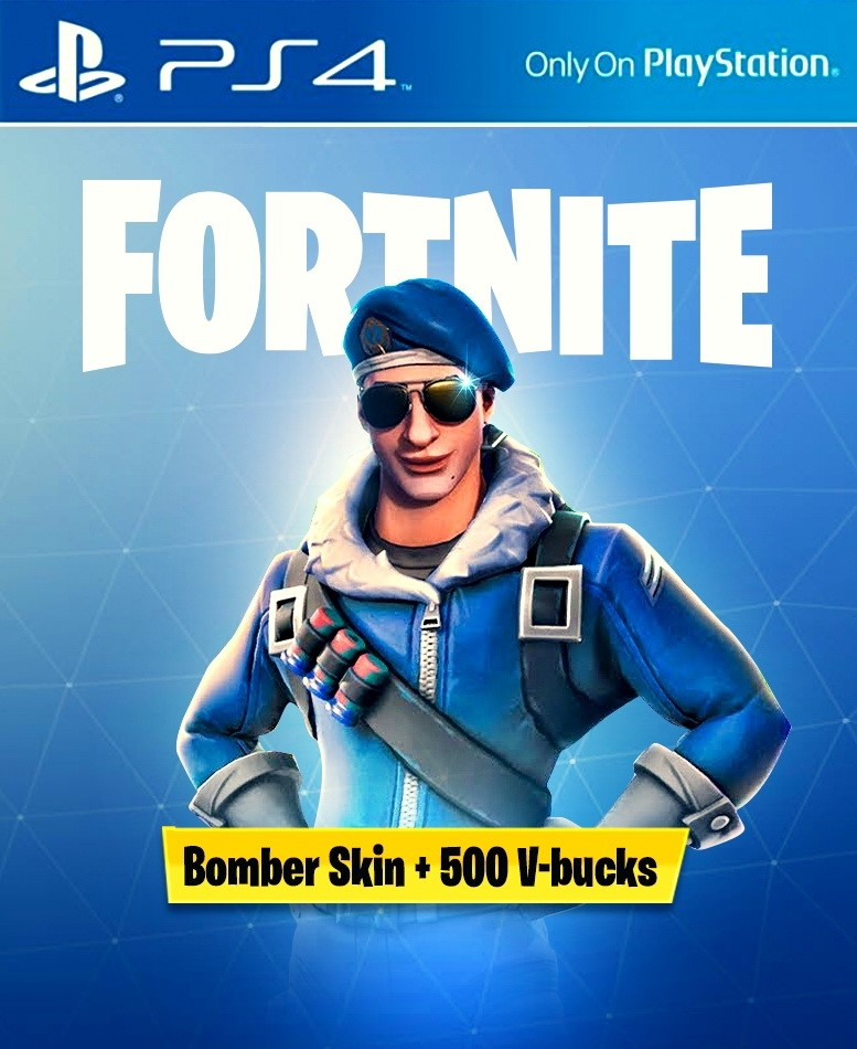 FORTNITE Bomber Pack + 500 V-Bucks PS4 EU/UK +DISCOUNTS