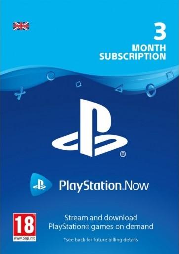 Playstation NOW 3 МЕС United Kingdom ПОДПИСКА (UK) PSN