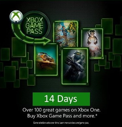 Xbox Game Pass (Xbox One) 14 days (Worldwide) ROW
