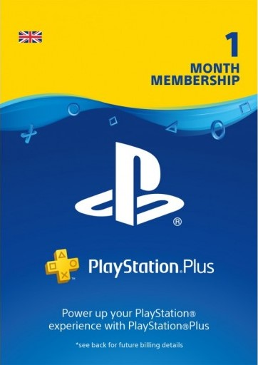 Playstation PLUS (PSN PLUS) 1 MONTH (UK) + DISCOUNTS
