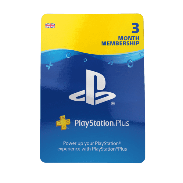 Playstation PLUS (PSN PLUS) 3 MONTH (UK) + DISCOUNTS