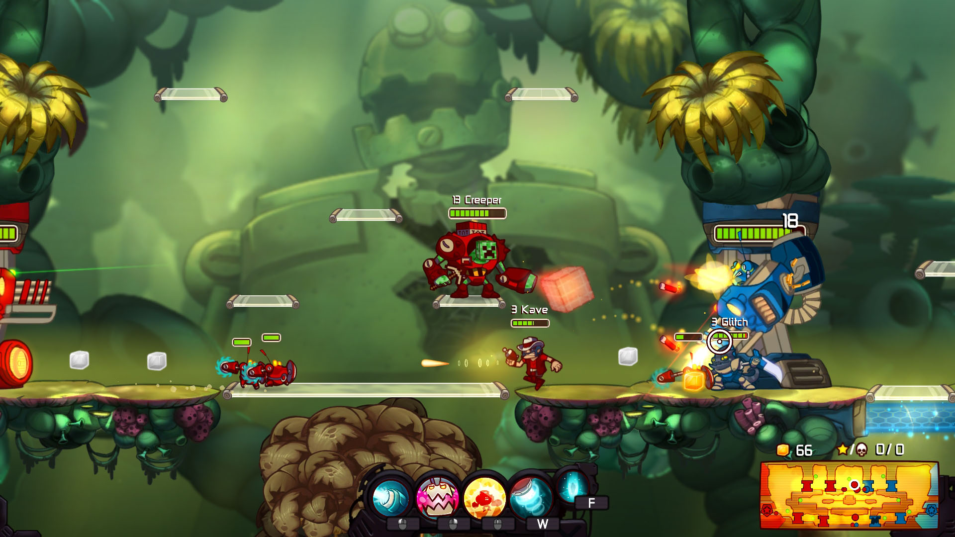 Awesomenauts (Steam Gift  RU+CIS) + BONUS