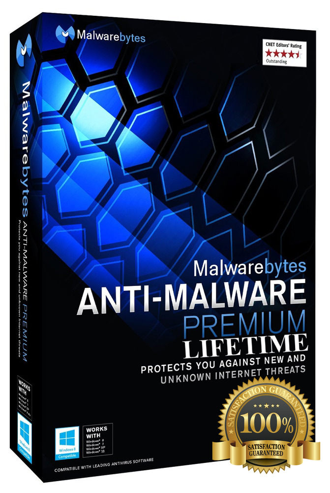 Malwarebytes Anti-Malware Premium —(This is a lifetime)