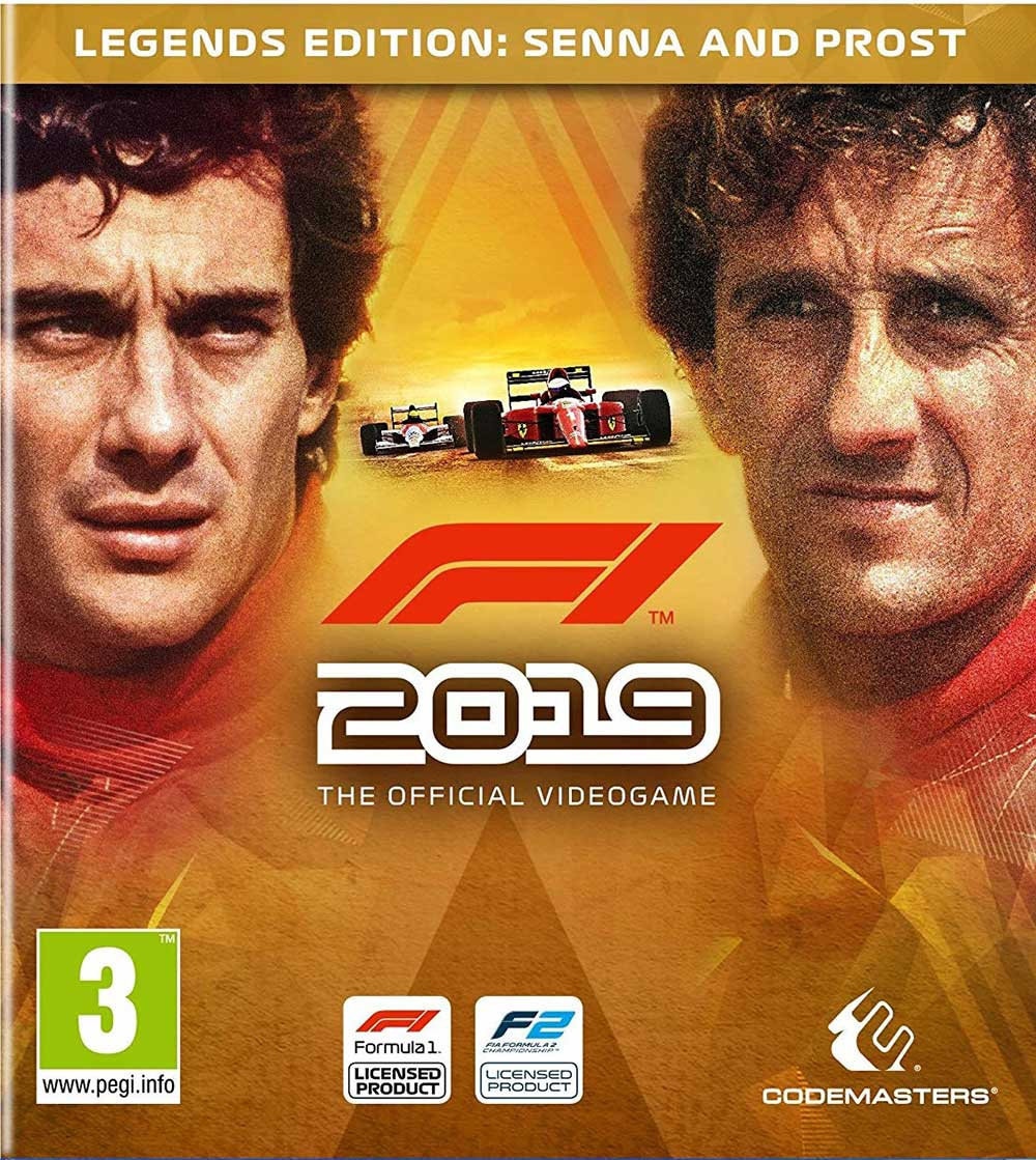 F1 2019 LEGENDS EDITION 🏁 | РУ/СНГ/УКР | MULTI +🎁GIFT