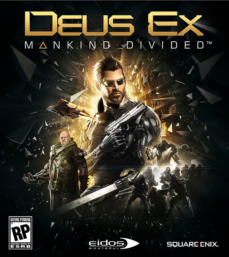 DEUS EX: MANKIND DIVIDED (STEAM) + DLC (RU) + GIFT