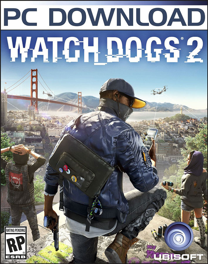 WATCH DOGS 2 EU (UPLAY) | MULTI-LANGUAGE | ПОДАРКИ