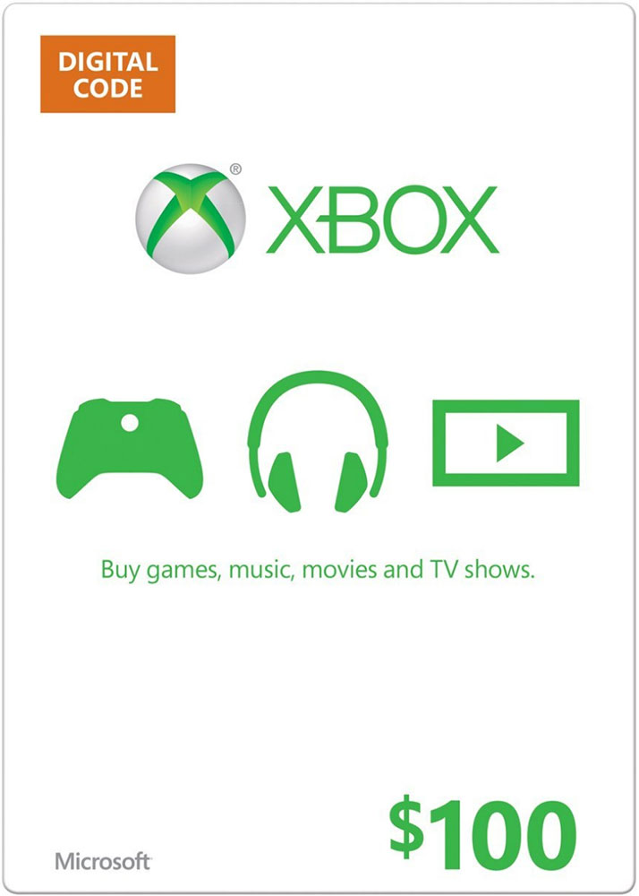 XBOX LIVE CARD $ 100 (USA) | DISCOUNTS