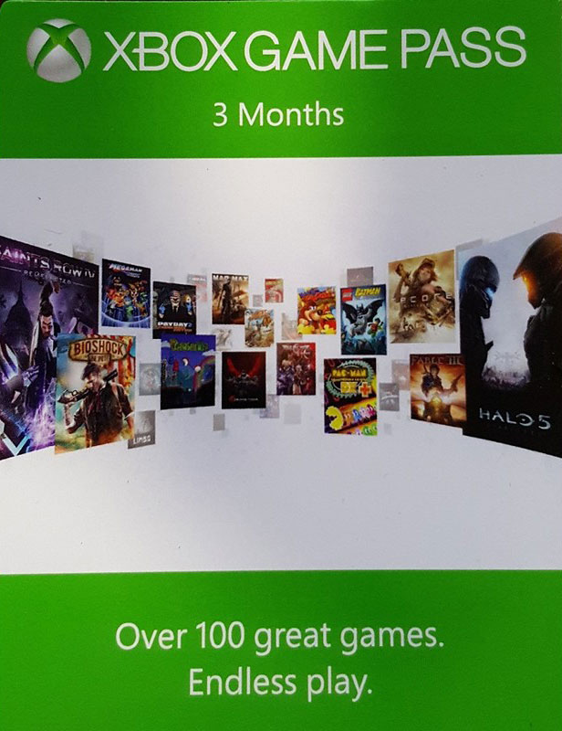 Xbox GAME PASS - 3 months (Xbox One) | Global