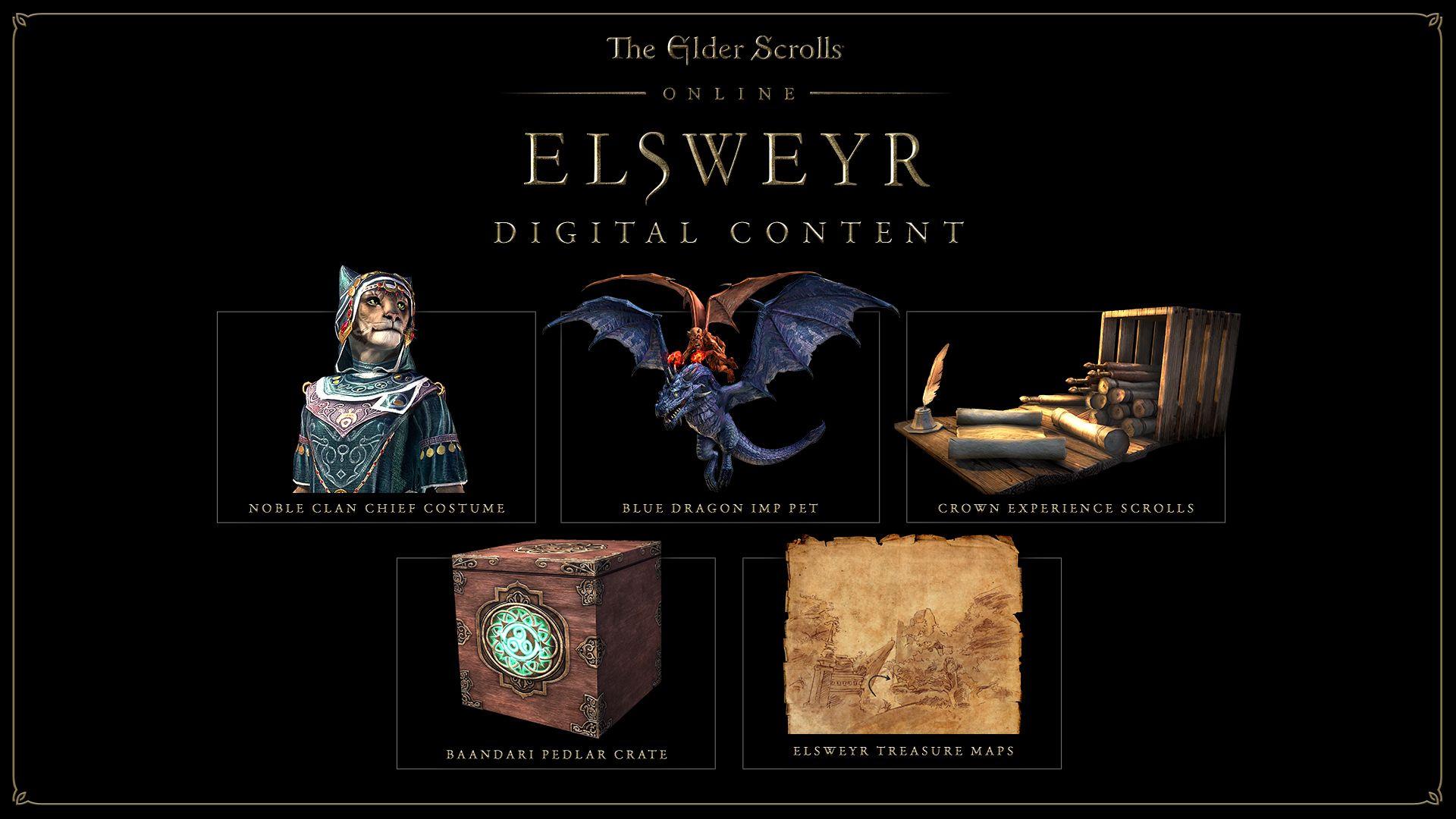 THE ELDER SCROLLS ONLINE: ELSWEYR UPGRADE | REGION FREE