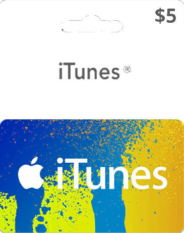 iTUNES GIFT CARD - $5 (USA) 🚩 | DISCOUNTS