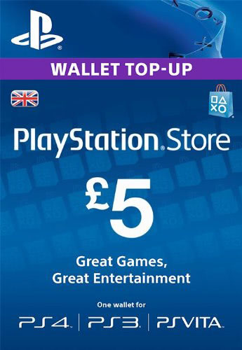 PLAYSTATION NETWORK (PSN) - £5 GBP (UK) 🎮 DISCOUNTS
