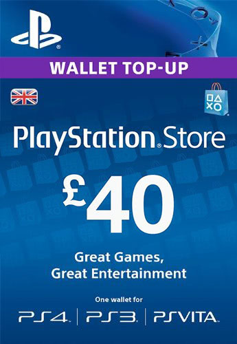 PLAYSTATION NETWORK (PSN) - £40 GBP (UK) 🎮 DISCOUNTS