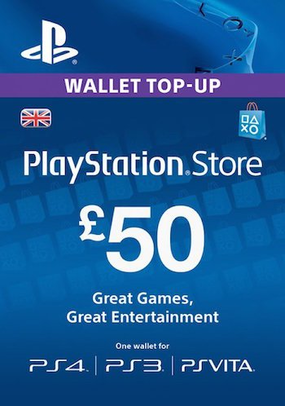 PLAYSTATION NETWORK (PSN) - £50 GBP (UK) 🎮 DISCOUNTS