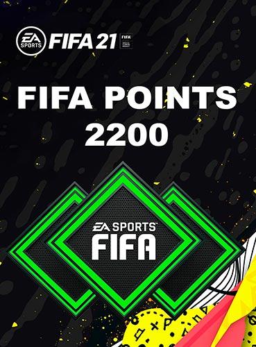 FIFA 21 - 2200 FUT POINTS  GLOBAL/MULTI ⚙️PC/ORIGIN 🎁