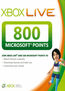 XBox Live 800 MS Points (EU) | DISCOUNTS