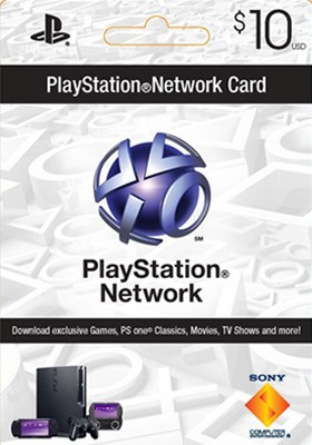Купить PLAYSTATION NETWORK (PSN) - $10 (USA)  Code 10 $ (US)