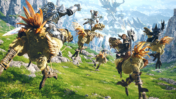 FINAL FANTASY XIV: A REALM REBORN (EURO) - CD-KEY