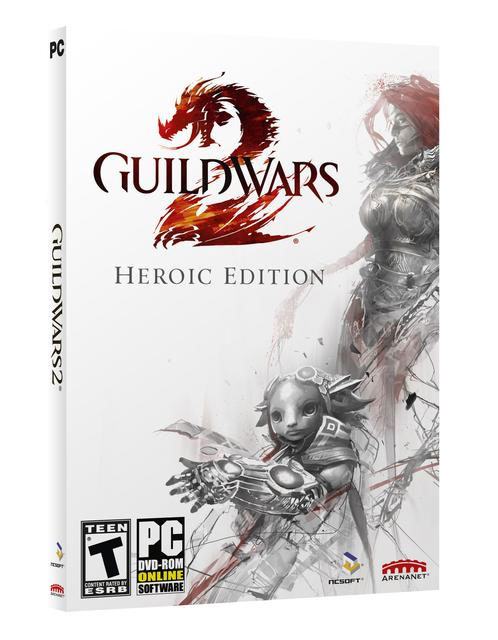GUILD WARS 2 - HEROIC EDITION (EURO) | ПОДАРОК | СКИДКИ
