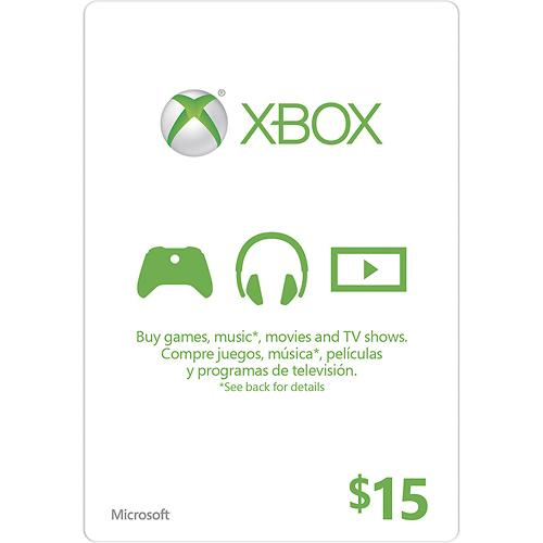 XBOX LIVE CARD $15 (USA) | DISCOUNTS