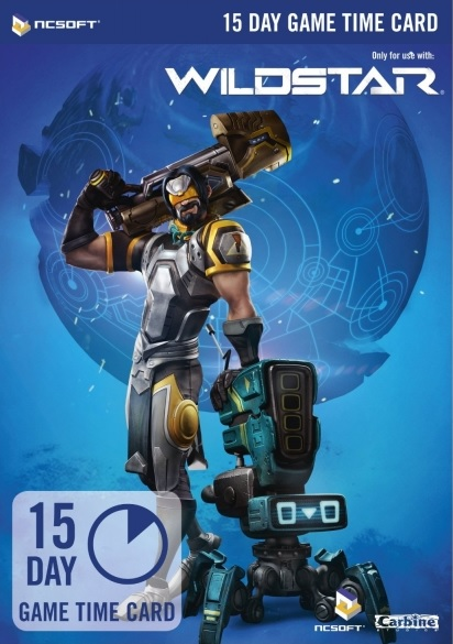 WildStar EU - 15 DAYS PREPAID GAME TIME CARD - SCAN