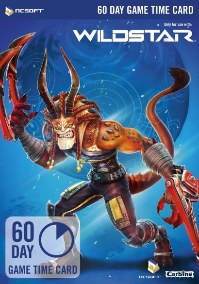 WildStar EU - 60 DAYS PREPAID GAME TIME CARD - SCAN