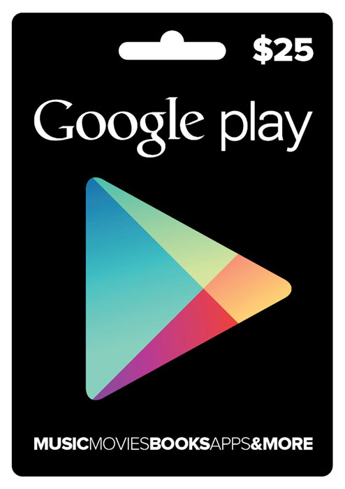 GOOGLE PLAY GIFT CARD $ 25 (USA) | Photo | Discounts