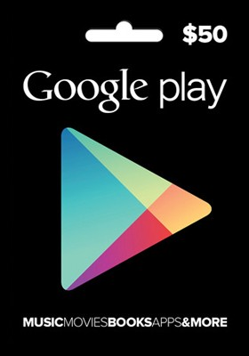 GOOGLE PLAY GIFT CARD $ 50 (USA) | Photo | Discounts